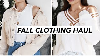Back To School Clothing Haul // TRY-ON