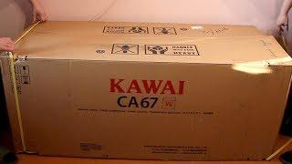 Digital Piano Unboxing & Assembly - Kawai CA67 / Розпакування і складання Каваї CA67