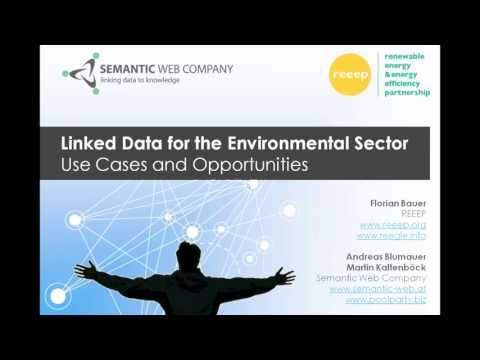 Linked Data for the Environmental Sector - Use Cases and Opportunities