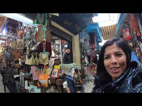 Visit to Old Medina, Tunisia