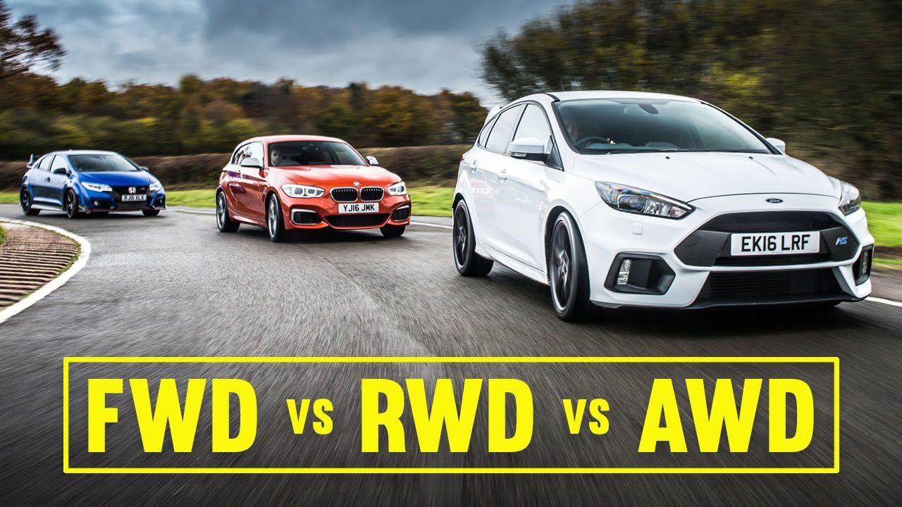 Civic Type R Awd >> Awd Vs Fwd Vs Rwd Focus Rs Civic Type R M140i Track Battle Youtube