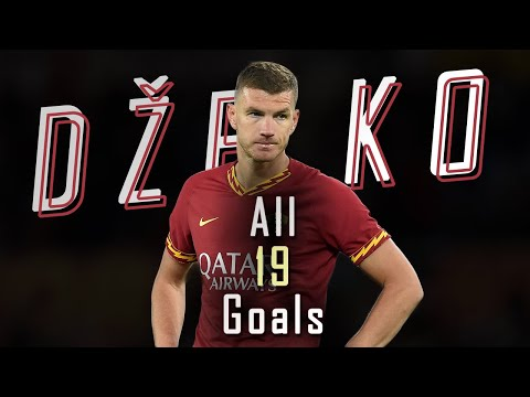 🇧🇦 Edin Džeko - All 19 Goals for AS Roma - 19/20 HD