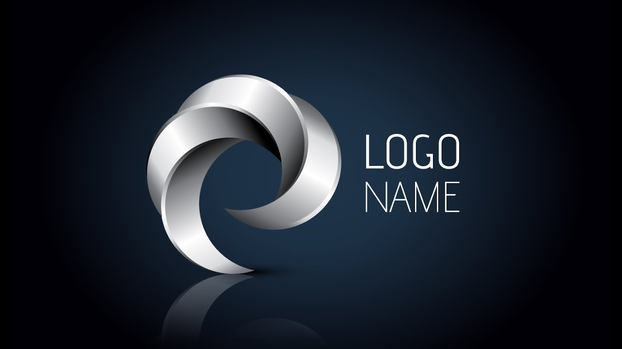 creation logo 3d illustrator