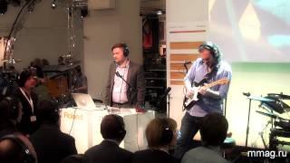 mmag ru: Musikmesse 2014 - презентация Roland Boss GP 10 - гитарный процессор