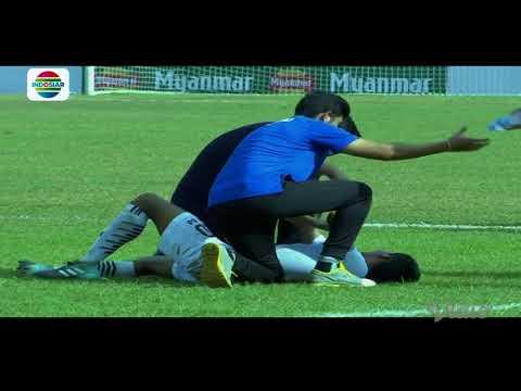 AFF Cup U-18 Championship 2017 : Rusuh Indonesia vs Thailand