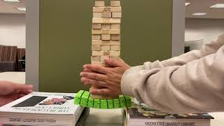 Jenga! How Does the Strain Stack Up?