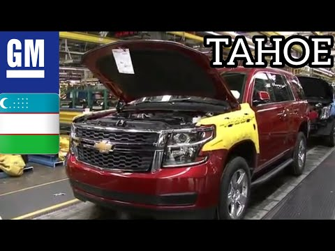 Так собирают вашу CHEVROLET TAHOE | CHEVROLET TAHOE ZAVODDA YIG'ILISH JARAYONI | Assembling Your Car