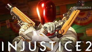 """RED HOOD WINS WITH ONE MOVE - Injustice 2: """"Red Hood"""" Gameplay"""