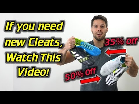 The Biggest Soccer Cleats Sale of the Year! - 50% Off the Latest Cleats!