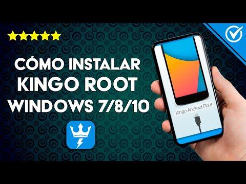 Cómo Descargar e Instalar Kingo Root en PC con Windows 7/8/10