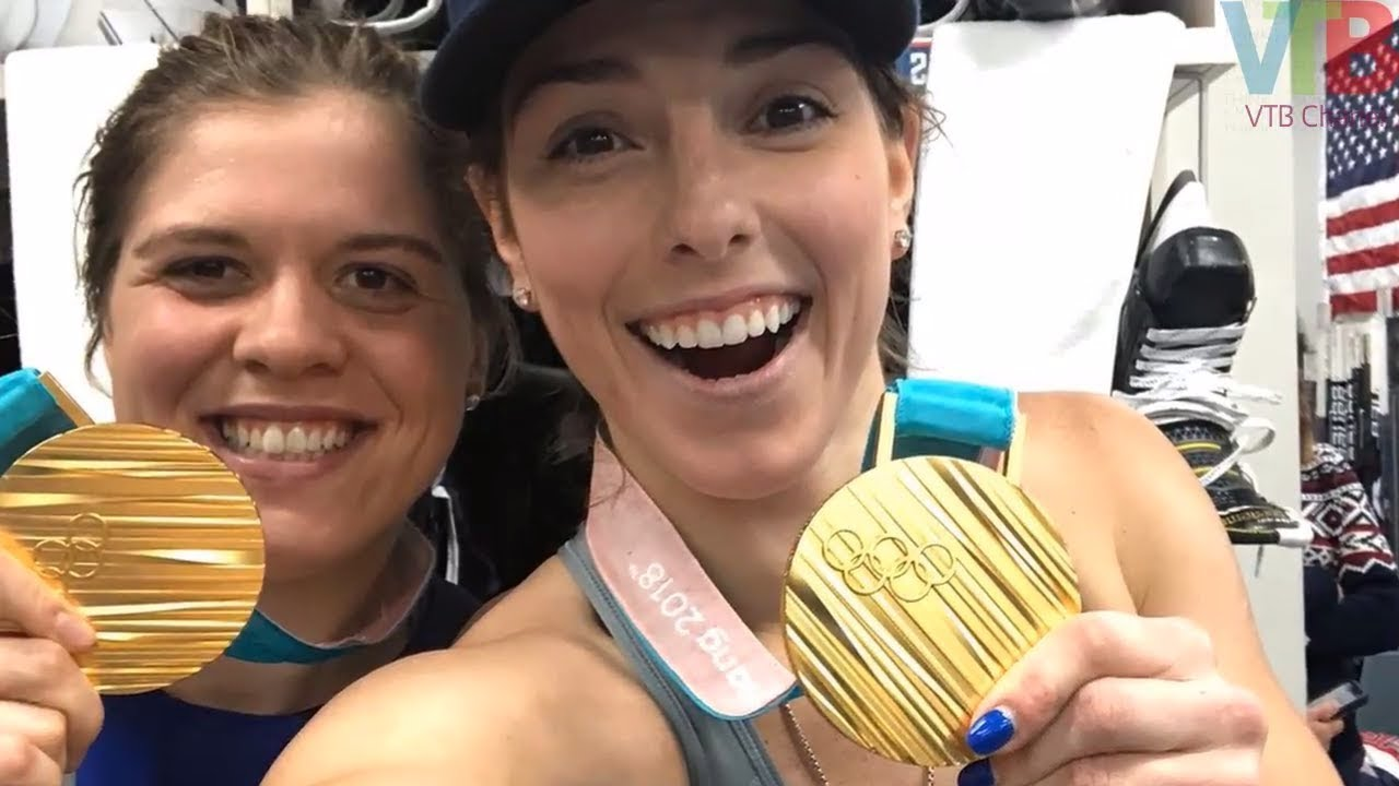 Gold medalist Hilary Knight isn't done yet
