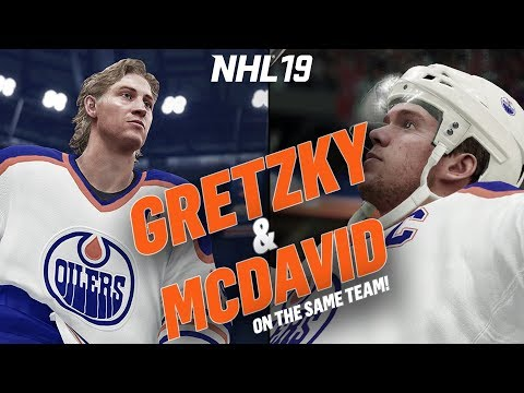CAN BOTH WAYNE GRETZKY AND CONNOR MCDAVID CARRY THE OILERS? | NHL 19 Challenge