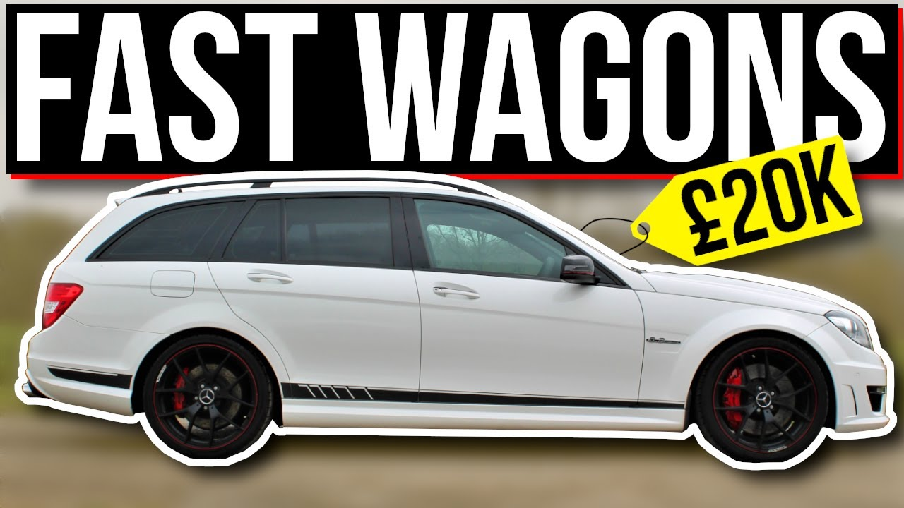 5 CHEAP Estate Cars with INSANE Performance! (Under £20,000)