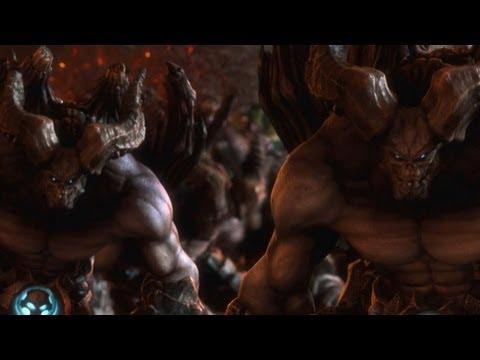 Anuncio de TV del lanzamiento de Darksiders II