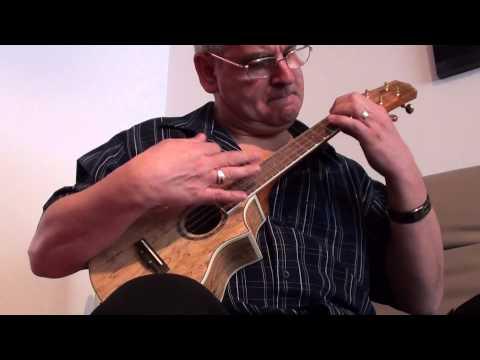 Peter Moss Ukulele 'Rocking the uke'
