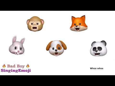 [Animoji Karaoke] Emoji Singing 'Bad Boy' -- Red Velvet (레드벨벳) | With Lyrics! |