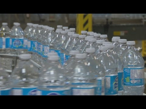 Behind the bottled water industry