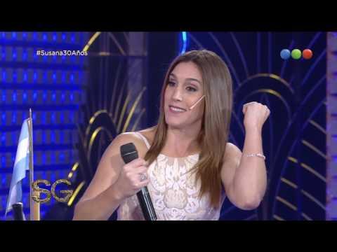 """La Sole"" se animó a cantar cumbia - Susana Giménez 2017"