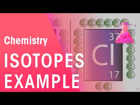 Isotopes Example | Chemistry | the virtual school