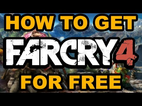 HOW TO GET FAR CRY 4 FOR FREE!!!! NO SURVEYS, NO VIRUSES, 100% FREE ALL DLC'S