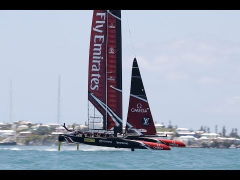 America's Cup Race Day 2 Review
