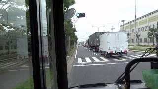【3DFHD】東京ベイシティバス 1030 ⑳(ISUZU ERGA) クリーンセンター-舞浜駅 前面展望
