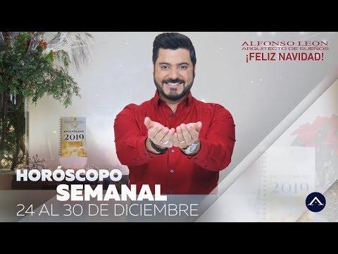 HOROSCOPO SEMANAL | NAVIDAD | 24 AL 30 DE DICIEMBRE | ALFONSO LEÓN ARQUITECTO DE SUEÑOS