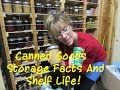 Long Term Food Storage: Canned Goods SHELF LIFE FACTS!