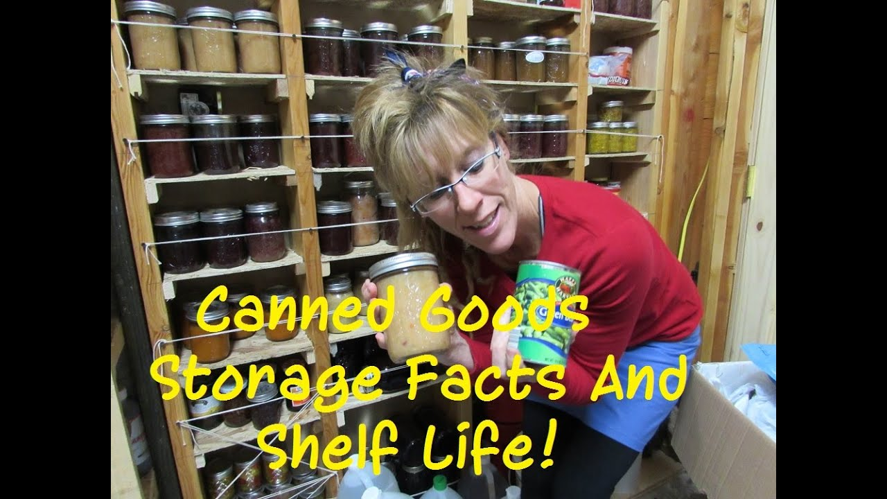 YouTube Premium  sc 1 st  YouTube & Long Term Food Storage: Canned Goods SHELF LIFE FACTS! - YouTube