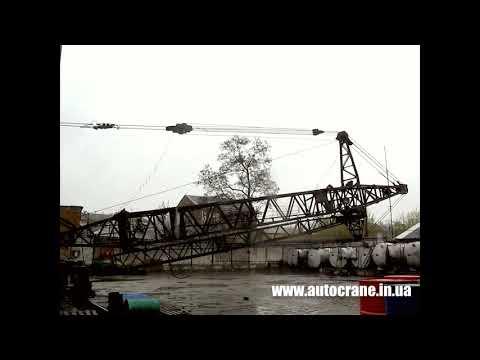 Демонтаж башенного крана - Аренда автокрана - Автокран 24
