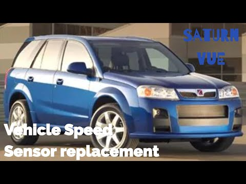 VSS Vehicle speed sensor Saturn Vue 3.5 removal and replacement