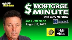 Mortgage Rates Pretty Stable !!  - The Mortgage Minute