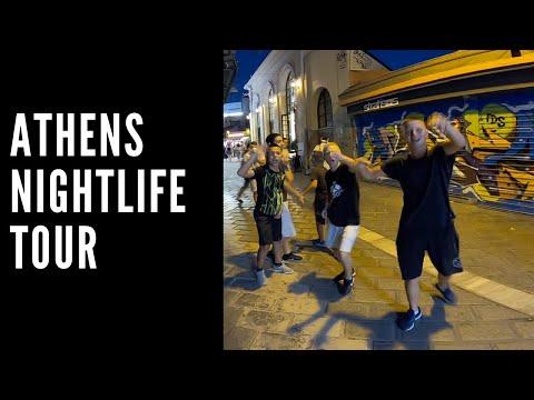 Athens Nightlife Tour post lockdown