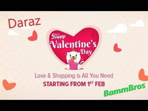 Daraz Valentine Campaign offers Details Explained