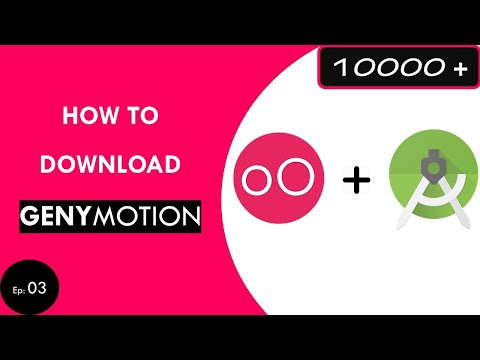 How To Download GENYMOTION For ANDROID STUDIO ...