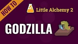 How to make GODΖILLA or KAIJU in Little Alchemy 2