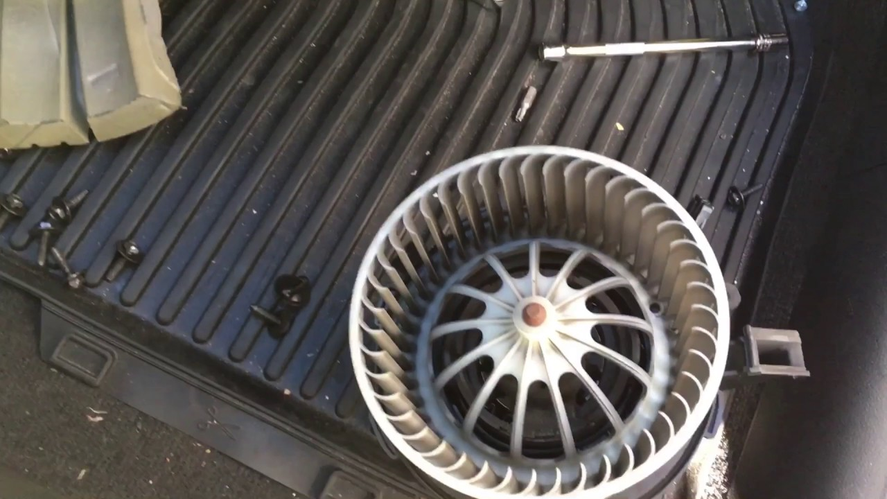 medium resolution of audi a5 a4 blower motor replacement
