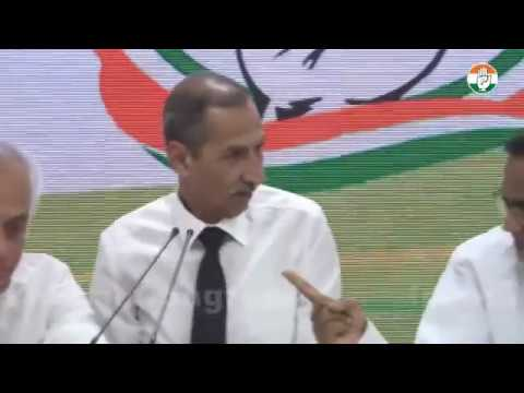 LIVE: AICC Press Briefing By P Chidambaram, Jairam Ramesh and LT Gen DS Hooda at Congress HQ