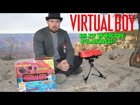 Is the Virtual Boy Worth Playing Today? - Console Review - Top Hat Gaming Man and Slopes Game Room