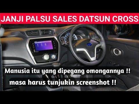 REVIEW SALES MOBIL DATSUN CROSS. MENYESAL!