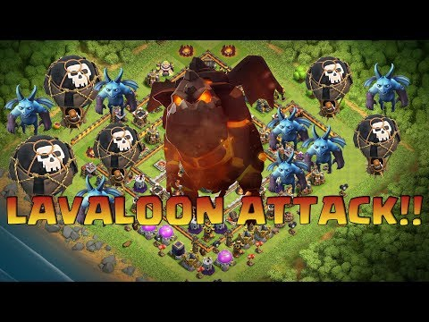 LavaLoon : Best TH11 3Star Attack Strategy Legend League(Lava+Balloon + Minion)2017 | Clash Of Clan