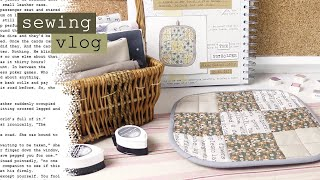 The Potholder: Sewing, Writing and Journal with Me - Silent Studio Vlog