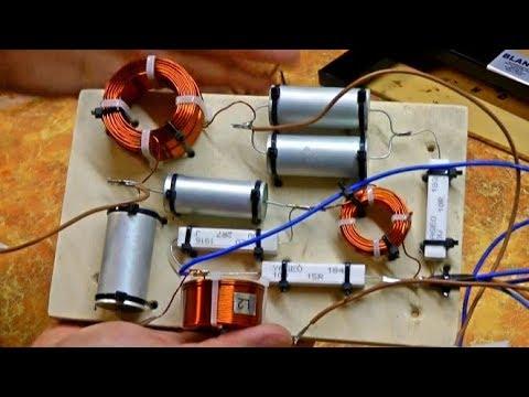 Как сделать фильтр для акустики своими руками / Кроссовер для Yamaha NS-6490