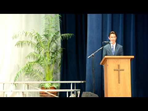 dante cofano aliso viejo christian school commencement address 2016 06 15