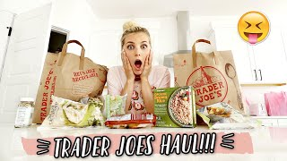 FIRST TIME SHOPPING AT TRADER JOES + WHAT I GOT!