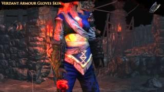Path of Exile - Verdant Gloves Skin
