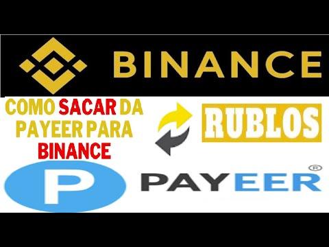 【Binance Exchange】Como enviar RUBLOS da BINANCE para a PAYEER | Trade, trocas e envio | Renda Extra