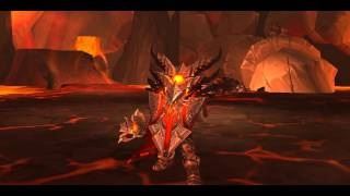 WoW - Equipping Prot Warrior's Hidden Artifact in Neltharion's Lair