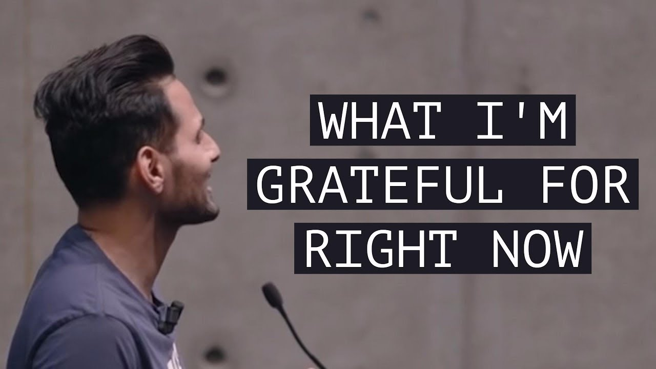 What I'm Grateful For Right Now - Motivation by Jay Shetty