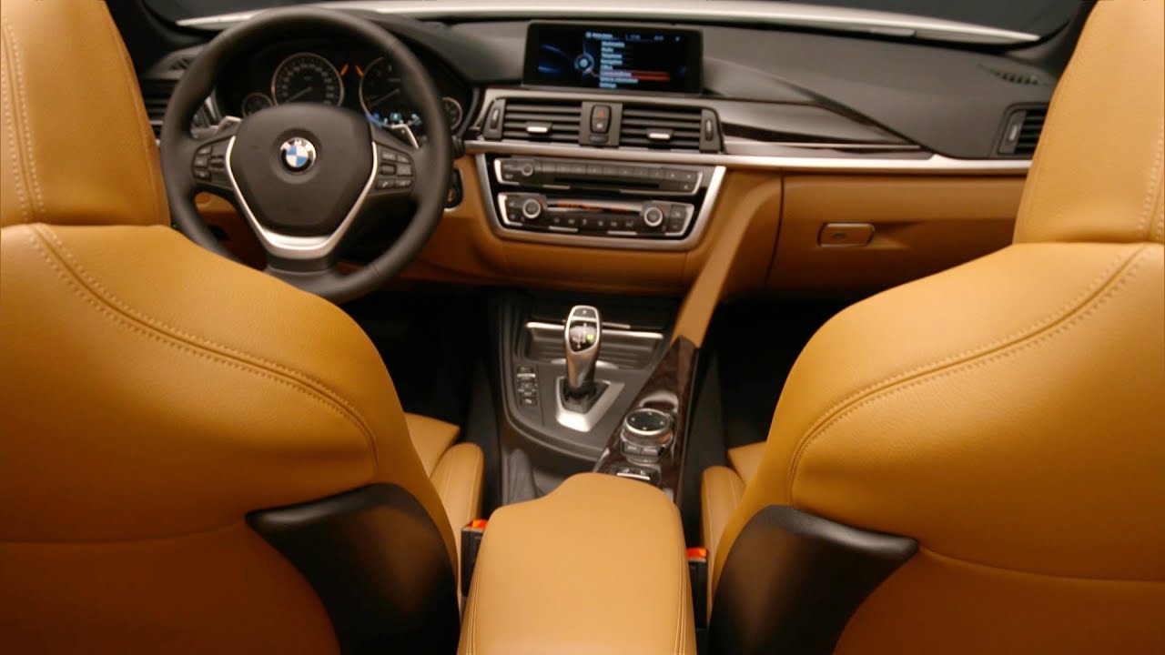 BMW Series Convertible Interior Design YouTube - Bmw 4 series interior